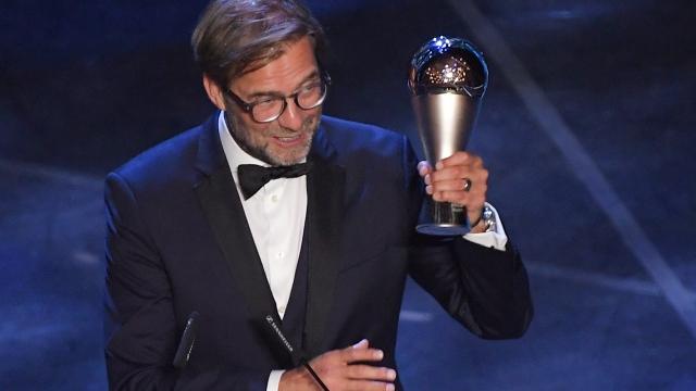 FIFA Yılın Teknik Direktörü Jürgen Klopp oldu