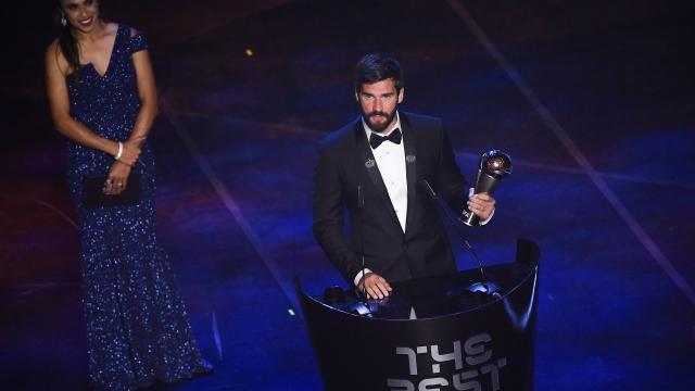 FIFA Yılın Kalecisi Alisson Becker oldu