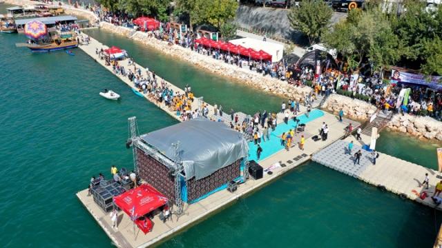 Rumkale Su Sporları Festivali büyük ilgi gördü