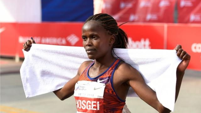 Chicago Maratonu'nda dünya rekoru kırıldı