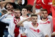 Türk taraftarlardan Fransa maçına yoğun ilgi
