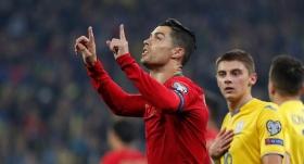 Ronaldo yine tarih yazdı