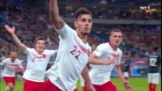 Fransa 1 - 1 Türkiye (Gol)