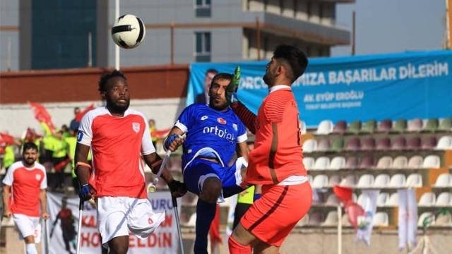 Ampute Futbol Türkiye Kupası Tokat'ta başladı
