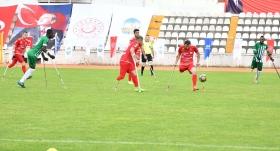Ampute Futbol Türkiye Kupası'nda 3. gün