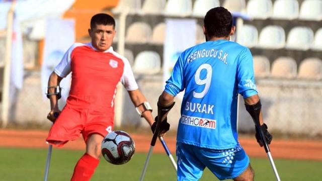 Ampute Futbol Türkiye Kupası grup maçları tamamlandı