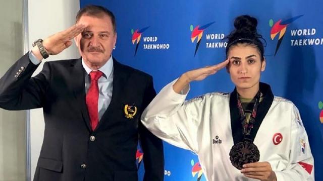 Hatice Kübra İlgün bronz kazandı