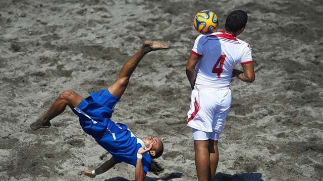 Plaj futbolunun kalbi Alanya'da atacak