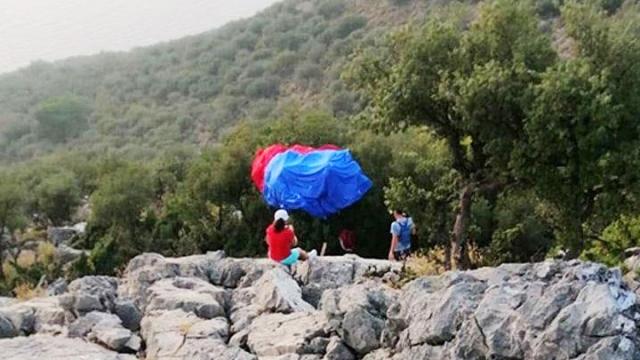 Ölüdeniz Hava Oyunları'nda talihsiz kaza