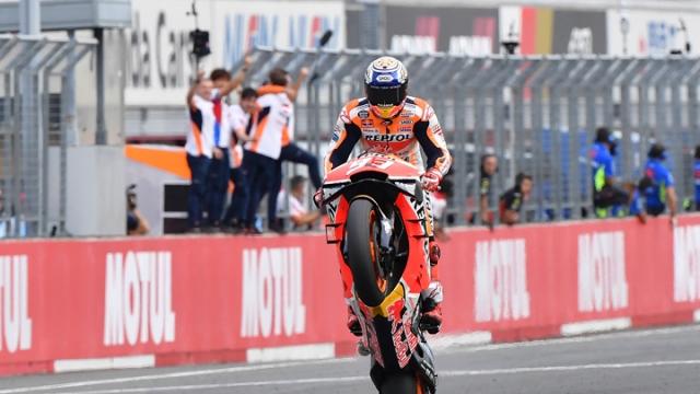 Japonya'da kazanan Marquez oldu