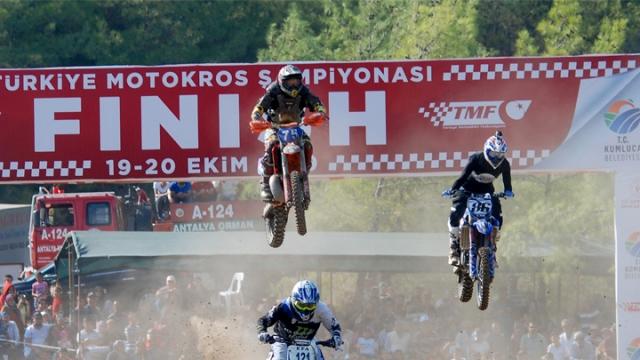 Türkiye Motokros Şampiyonası 3. ayak yarışları sona erdi