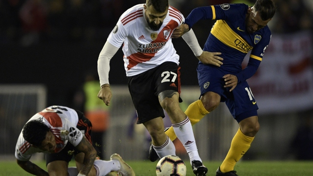 Boca - River kupada karşı karşıya