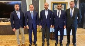Uluslararası Judo Federasyonu Başkanı'ndan Bilal Erdoğan'a ziyaret