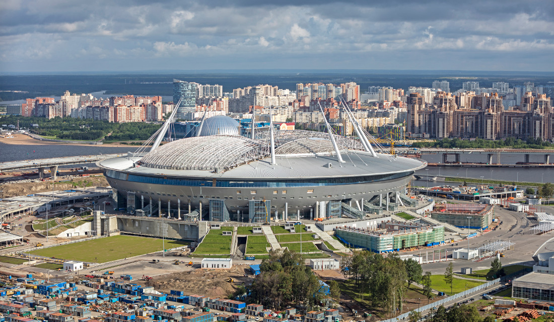 St. Petersburg   Gazprom Arena