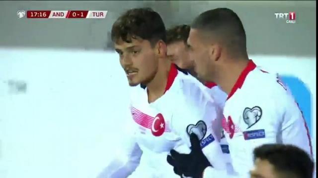 Andorra - Türkiye (Gol)
