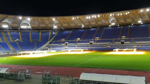 Roma Olimpiyat Stadı açılışa hazırlanıyor