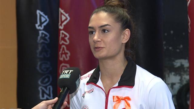 """""""Kick Boks'un Altın Kızları"""" TRT SPOR'a konuştu"""