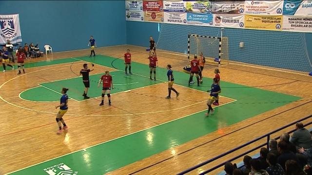 Hentbol Kadınlar Süper Ligi'nde 9'uncu hafta heyecanı yaşandı