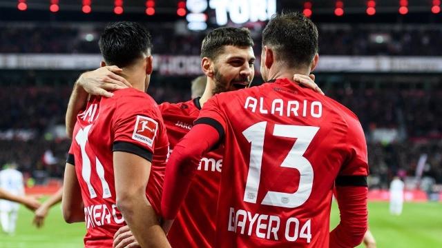 Bayer Leverkusen - Schalke (Özet)
