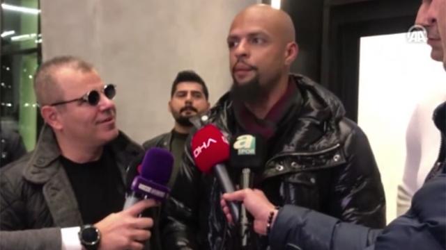 Felipe Melo: Transfer için gelmedim