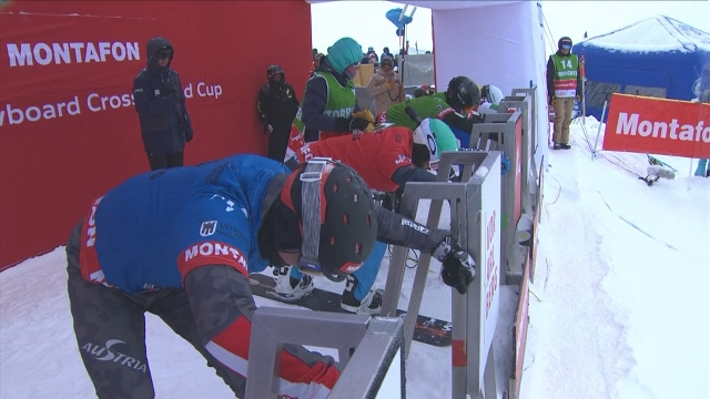 Snowboard krosta dünya kupası başladı