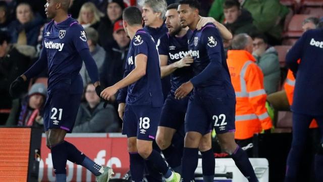 Southampton - West Ham United (Özet)