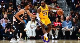 Lakers'ın deplasman serisi sürüyor