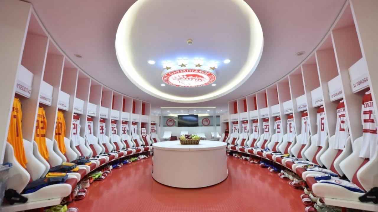 Dünyanın en güzel stadyumlarının soyunma odaları