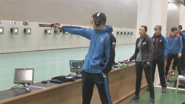 Rusya Atıcılık Milli Takımı Mersin'de