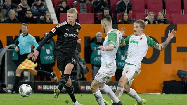 Augsburg - Borussia Dortmund (Özet)