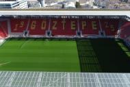 İşte Göztepenin yeni stadının son hali