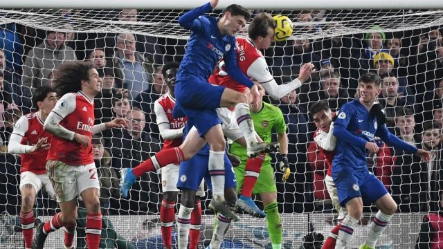 Chelsea - Arsenal (Özet)
