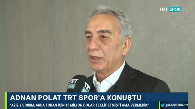 Adnan Polat'tan Arda Turan açıklaması