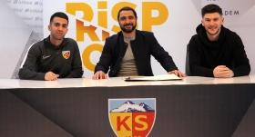 Kayserispor'da Emre ve Sapunaru için imza töreni