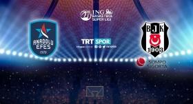 CANLI | Anadolu Efes-Beşiktaş