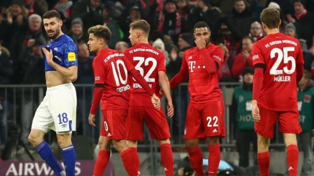 Bayern Münih - Schalke 04 ( Özet)