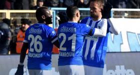 Erzurumspor tek attı üç aldı