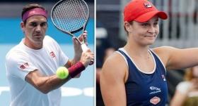 Federer ve Barty, çeyrek finalde