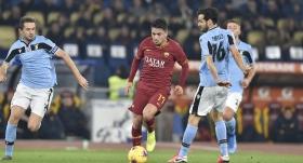 Roma derbisinde maçın oyuncusu Cengiz Ünder