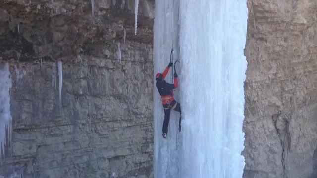 Emrah Özbay Buz Tırmanış Festivali devam ediyor