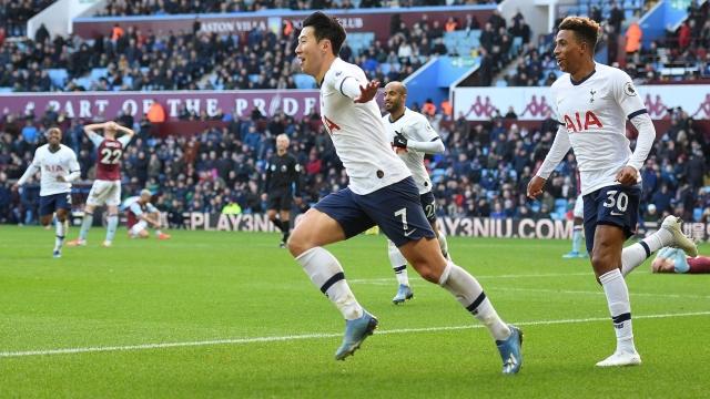 Aston Villa - Tottenham (Özet)