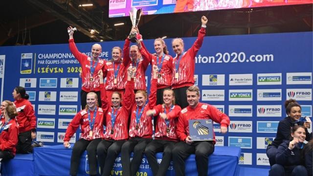 Avrupa'da badmintona Danimarka damgası