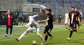 Erzurumspor Adana'dan 1 puanla döndü