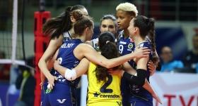 Fenerbahçe Opet güle oynaya çeyrek finalde