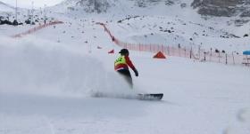Snowboard 2. Etap Yarışmaları başladı