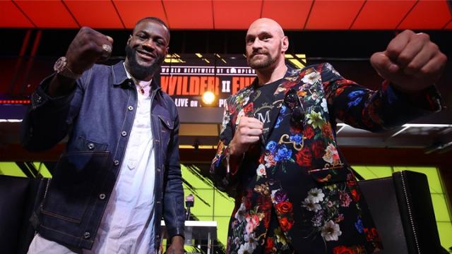 Wilder ve Fury birbirlerine meydan okudu