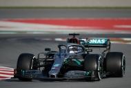 F1'de ilk günün en hızlı ismi Hamilton