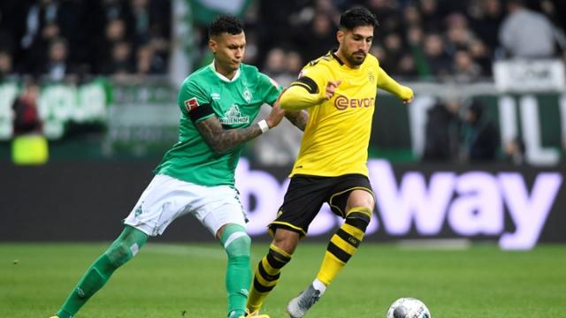 Werder Bremen - Borussia Dortmund (Özet)