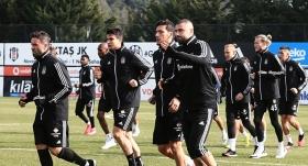 Beşiktaş, Alanyaspor maçı hazırlıklarına başladı
