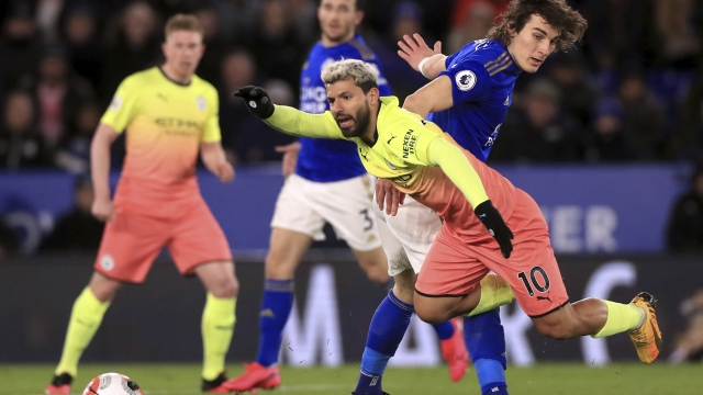 Leicester City - Manchester City (Özet)